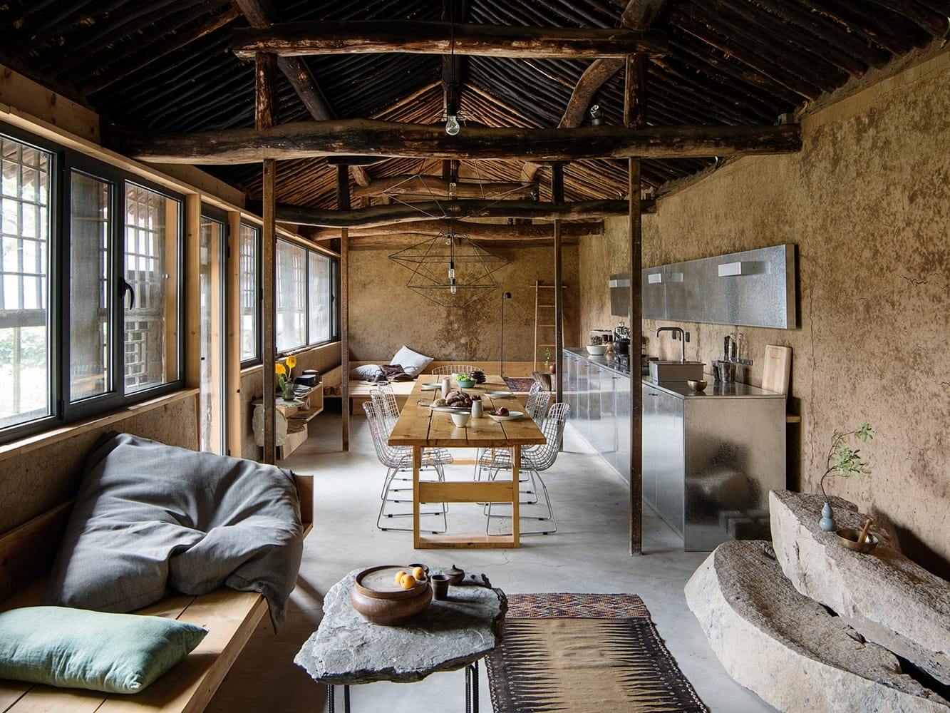 Dom wabi-sabi | Studio Cottage projektu Clou Architects